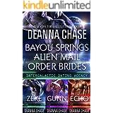 Bayou Springs Alien Mail Order Brides Box Set: Books 1-3: Intergalactic Dating Agency