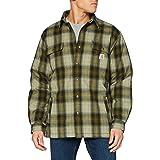 CARHARTT Men's Hubbard Sherpa Lined Shirt Jacket (Regular and Big & Tall Sizes)