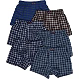 ToBeInStyle Mens Classic Easy On Comfortable Fashionable Breathable Boxer Shorts