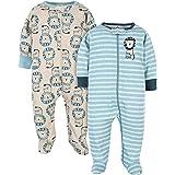 Gerber Baby Boys' 2-Pack Organic Sleep 'N Play