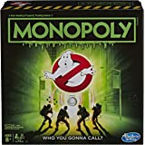 Hasbro Monopoly Game: Ghostbusters Edition; Monopoly Board Game for Kids Ages 8 and Up,E9479,