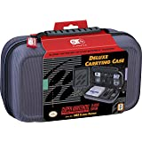 Officially Licensed Nintendo Super Nintendo Entertainment System Carrying Case – Protective Deluxe Travel System Case – Grey