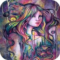 Galaxy Girl 4K Wallpaper