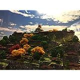 安土城 日本の名城 よみがえる 織田信長、お城 模型 ジオラマ完成品 A3