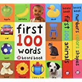 First 100 Board Book Box Set x3 Books
