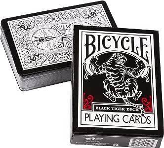 バイスクル(Bicycle) トランプ Black Tiger [並行輸入品]