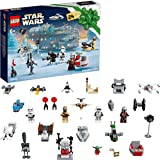 LEGO 75307 Star Wars Advent Calendar 2021 Toy Building Set, The Mandalorian Christmas Gift for Kids Age 6+ with Baby Yoda Min
