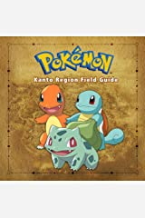 Pokemon Kanto Region Field Guide Hardcover
