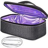 Vemingo UV Light Sanitizer Bag, Portable UVC Light Disinfection Sterilizer Box for Cell Phone, Jewelry, Watches, Glasses, Lit