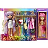 Rainbow High Fashion Studio – Exclusive Doll with Rainbow of Fashions (Clothes and Accessories) and 2 Sparkly Wigs to Create
