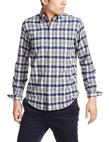 Peruvian Pima Cotton Flannel Buttondown Shirt 111-14-0255: Dark Blue