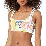 Maaji Womens 2239SFA01 Tie Front Reversible Four Way Bikini Top Swimsuit Bikini Top - White