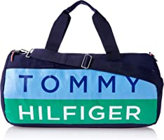 Tommy Hilfiger Unisex Mustique Iconic Canvas Mustique Iconic Canvas, Blue Depths, One Size