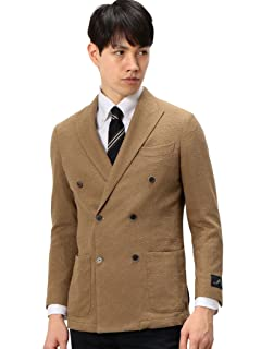 Green Label Relaxing x Ring Jacket Loop Yarn 6-button Double Breasted Jacket 3122-699-0853