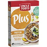 Uncle Tobys Plus Protein Breakfast Cereal, Peach, Sultanas & Oat Clusters, 410g