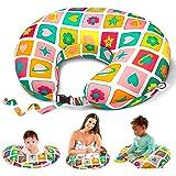 Bamibi Breastfeeding Pillows, Cover 100% Cotton, Filling 100% Polyester (Agatha)