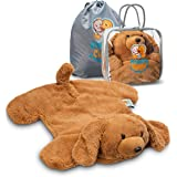FRIENDLY CUDDLE Weighted Lap Pad for Kids 5 lbs. - Sensory Weighted Stuffed Animals - Lap Blanket for Toddlers Kids Adults wi