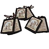 Scapular Catholic Brown Wool Mt Carmel Scapulars for Men and Women - Escapularios de la Virgen del Carmen (Classic 3-Pack)