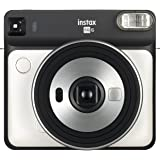 Fujifilm 16581393 Instax Camera SQ6 Instant Camera with 1 Assorted Film and Planner, Pearl White