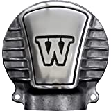 FORK ベベルギアカバー W650 W800 W400 W with Fins ポリッシュ 7101-01