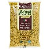 Naturel Organic Pasta, Macaroni, 500g