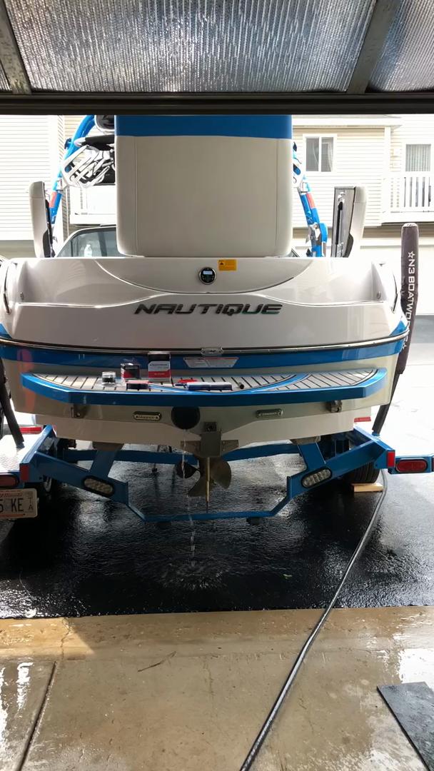 Boat Motor Flusher Round Circular Cup Muff Plunger with Hose Fitting Flush Kit Marine Inboard Engine Flushing