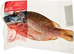 BluCurrent Gilled/Gutted/Scaled Red Snapper Whole Fish- Chilled