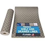 """Drymate Premium Shelf and Drawer Liner (12"""" x 59""""), (Set of 2), Slip-Resistant, Durable, Non Adhesive – Absorbent/Waterproof"""