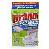Drano Advanced Septic Treatment, 3 Count