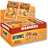HotHands Hand & Toe Warmers - Long Lasting Safe Natural Odorless Air Activated Warmers - 24 Pair OF Hand Warmers & 8 Pair Of