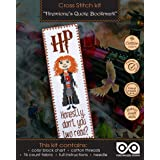 Cross Stitch Kit of Bookmark - Hermione Quote 'Honestly Don't You Two Read?'