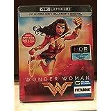 Wonder Woman 2017 Limited Edition SteelBook [4K Ultra HD Blu-ray+Blu-ray+Digital]