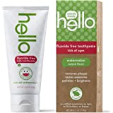 Hello Products - Kids Fluoride Free Toothpaste Natural Watermelon - 4.2 oz.