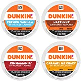 Dunkin' Mixed Flavor Coffee Variety Pack, 60 Keurig K-Cup Pods, 60 Count