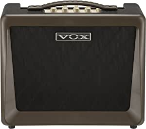 VOX Nutube搭載 アコースティックギターアンプ VX50 AG コンパクト 軽量設計 50Wの大出力 自宅練習 スタジオ ステージに最適 マイク入力 弾き語り