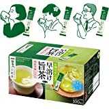 AGF 新茶人 宇治抹茶入り上煎茶 スティック 100本 【 お茶 スティック 】【 粉末緑茶 】【 ティーバッグ不要 】