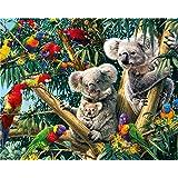 EOBROMD Diamond Painting Kit, 5D DIY Rhinestone Embroidery Cross Stitch Arts Craft Home Wall Decor - Koala 12x16inch