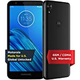 Moto E6 - Unlocked Smartphone - Global Version - 16GB - Starry Black (US Warranty) - Verizon, AT&T, T-Mobile, Sprint, Boost,