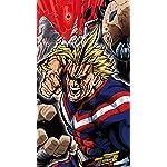 僕のヒーローアカデミア iPhone8,7,6 Plus 壁紙(1242×2208) オールマイト,オール・フォー・ワン