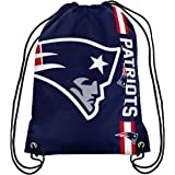 New England Patriots Big Logo Drawstring Backpack