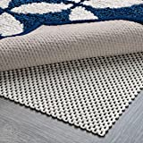 (7x10) - DoubleCheck Products Non Slip Rug Pad Thick Padding and Supper Grip Size 2.1mx3m