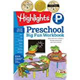 Preschool Big Fun Workbook: Build Skills and Confidence Through Puzzles and Early Learning Activities!