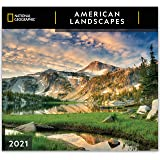 National Geographic American Landscapes 2021 Wall Calendar