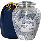 Wings of Love Elegant Adult Cremation Urn for Human Ashes - A Beautiful and Timeless Urn to Honor The One Your Love - Find Co