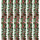 Juvale 6-Pack Christmas Tinsel Garland - Multicolored Sparkling Hanging Decoration - Perfect for Xmas and Other Festivities -