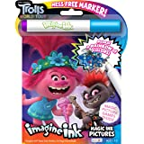 Trolls World Tour 24-Page Color Activity Book Imagine Ink Magic Pictures with Marker 47353