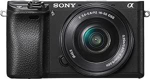 ソニー SONY ミラーレス一眼 α6300 パワーズームレンズキット E PZ 16-50mm F3.5-5.6 OSS ブラック ILCE-6300L B