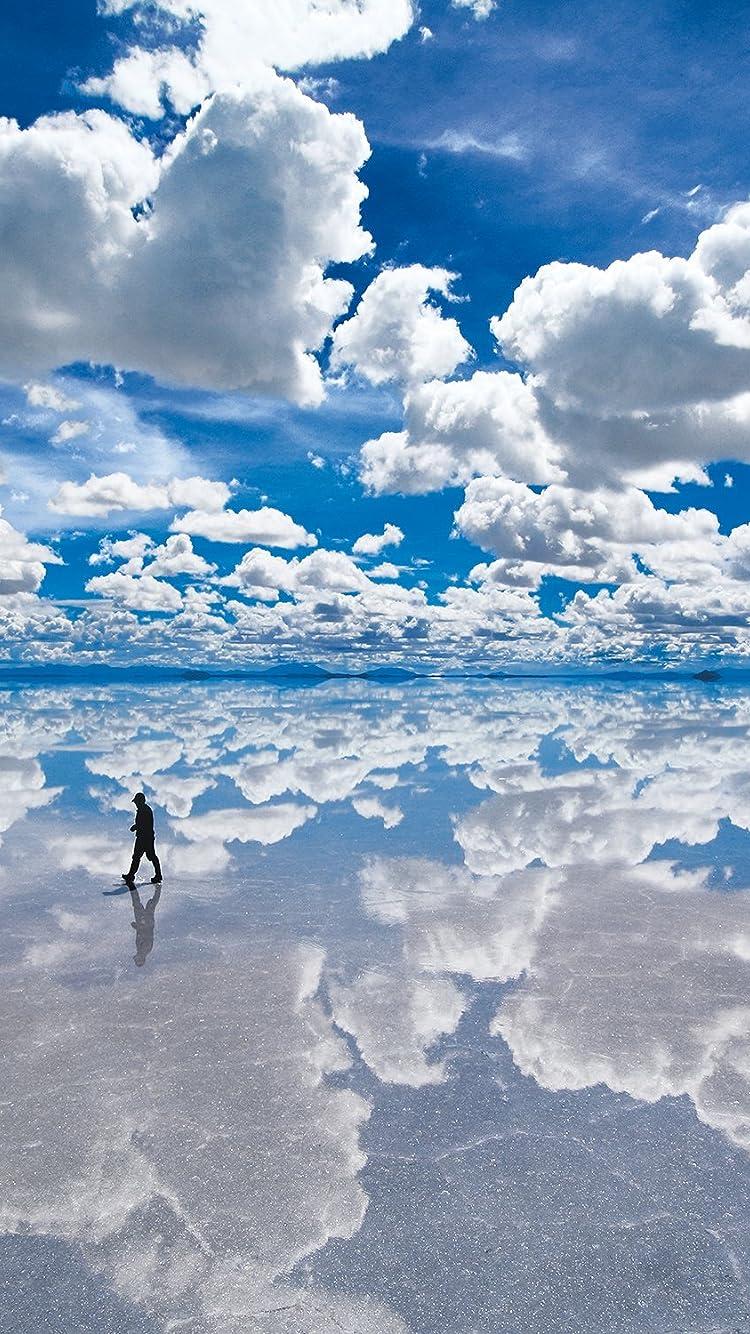 絶景 ウユニ塩湖 ボリビア Iphone8 7 6s 6 750 1334 壁紙 画像48587