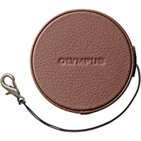 OLYMPUS 14-42mm EZレンズ用 本革レンズジャケット ブラウン LC-60.5GL BRW
