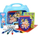 Gift Boutique Paw Patrol Coloring and Activity Carry Case, Includes Jumbo Crayons, Stickers, Mess Free Crafts, Doodle Pad, Bo